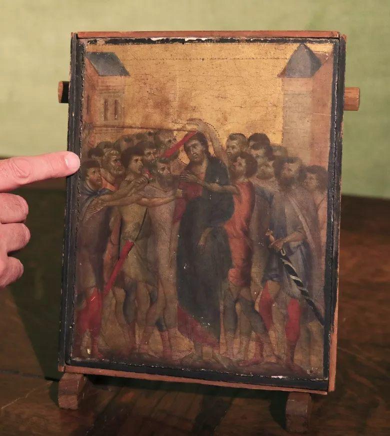 法国90岁老太一夜暴富,搬家清理出700多年前的旧画,竟然拍卖1.9亿天价!插图8