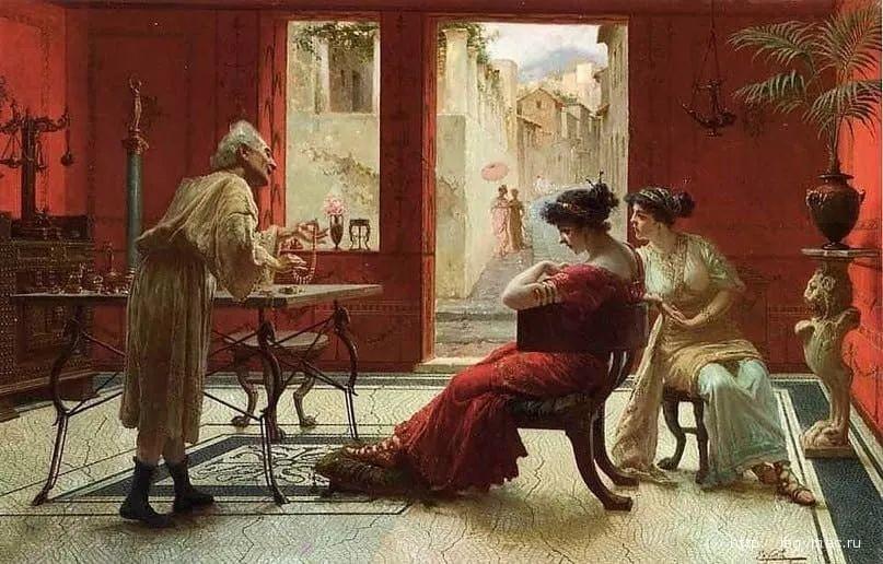 维多利亚晚期非常流行的油画主题,意大利艺术家Ettore Forti插图5
