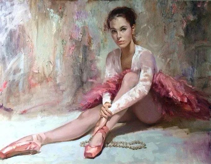 她的油画有一种惊艳脱俗的美,乌克兰天才女画家艾琳·谢里插图3
