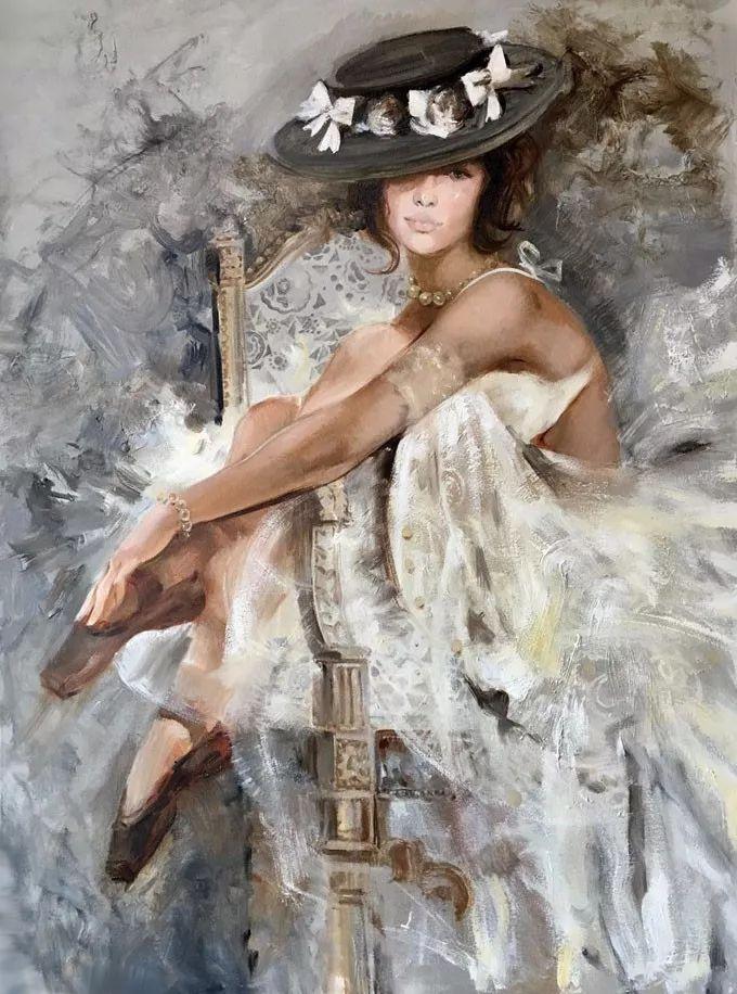 她的油画有一种惊艳脱俗的美,乌克兰天才女画家艾琳·谢里插图9