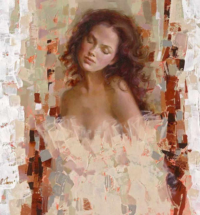 她的油画有一种惊艳脱俗的美,乌克兰天才女画家艾琳·谢里插图10