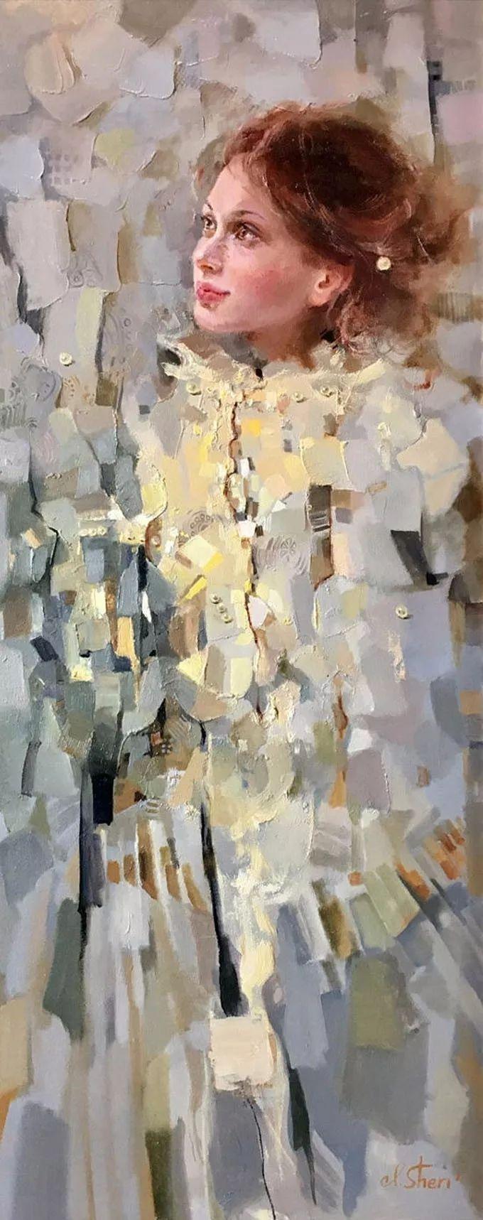 她的油画有一种惊艳脱俗的美,乌克兰天才女画家艾琳·谢里插图13