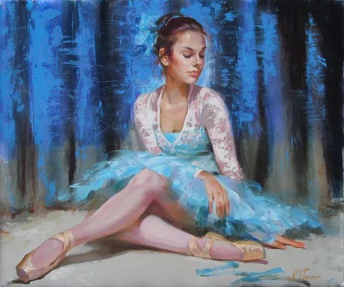 她的油画有一种惊艳脱俗的美,乌克兰天才女画家艾琳·谢里插图23