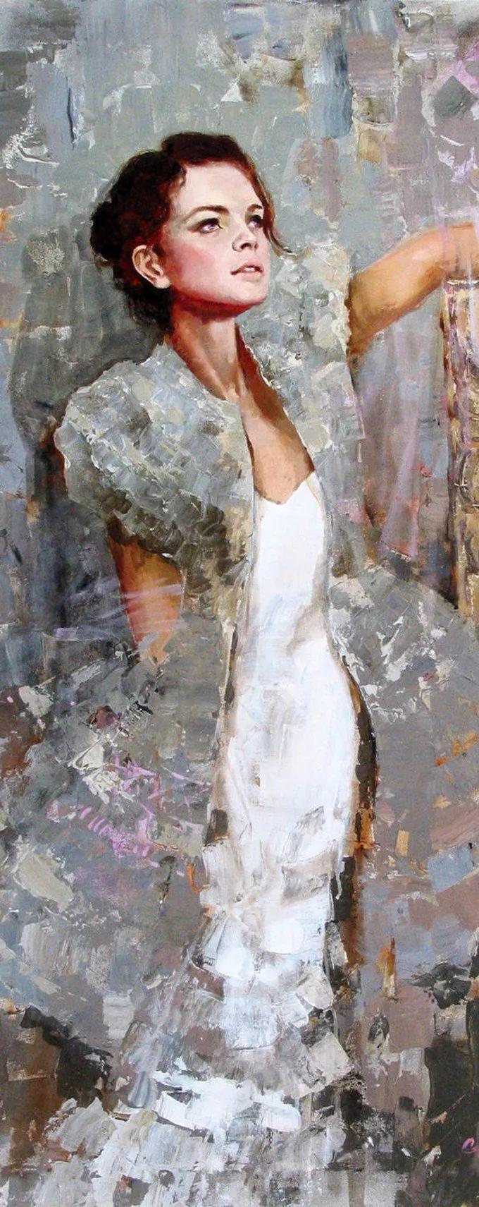 她的油画有一种惊艳脱俗的美,乌克兰天才女画家艾琳·谢里插图38