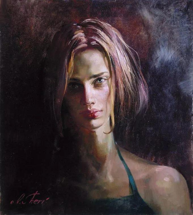 她的油画有一种惊艳脱俗的美,乌克兰天才女画家艾琳·谢里插图47