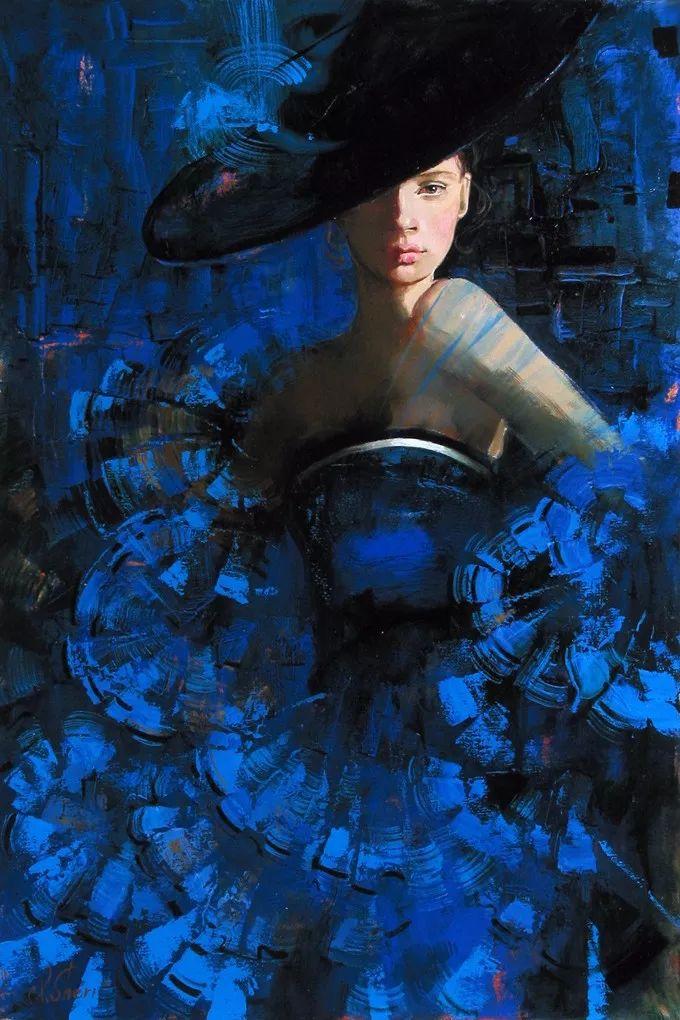 她的油画有一种惊艳脱俗的美,乌克兰天才女画家艾琳·谢里插图49