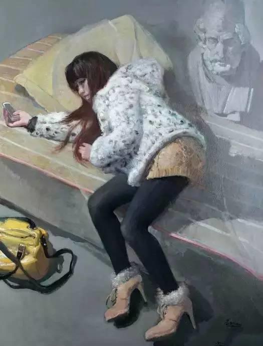夏葆元——与陈逸飞齐名的油画界三大才子之一插图19