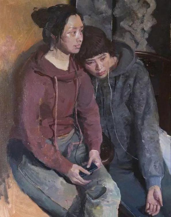 夏葆元——与陈逸飞齐名的油画界三大才子之一插图36