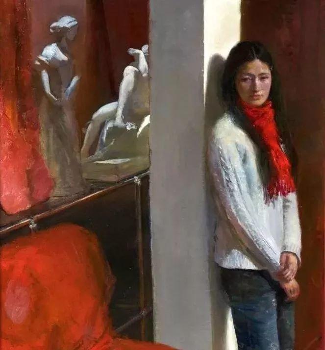 夏葆元——与陈逸飞齐名的油画界三大才子之一插图38