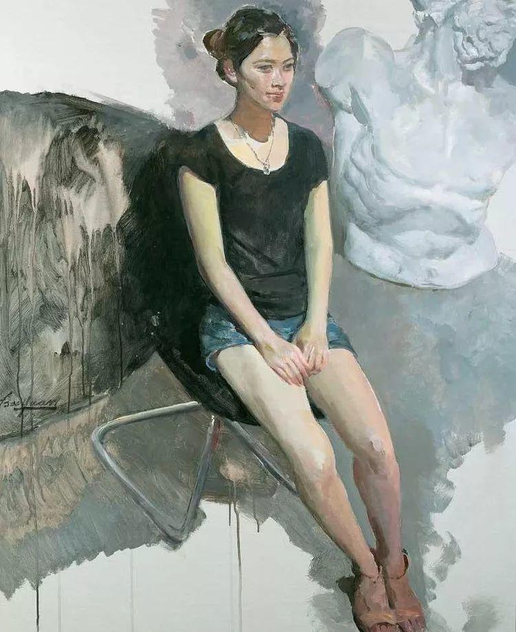 夏葆元——与陈逸飞齐名的油画界三大才子之一插图39