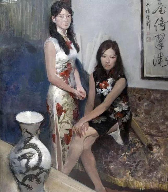 夏葆元——与陈逸飞齐名的油画界三大才子之一插图49