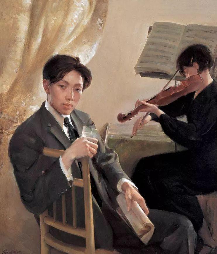 夏葆元——与陈逸飞齐名的油画界三大才子之一插图51