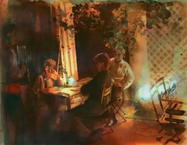 夏葆元——与陈逸飞齐名的油画界三大才子之一插图78