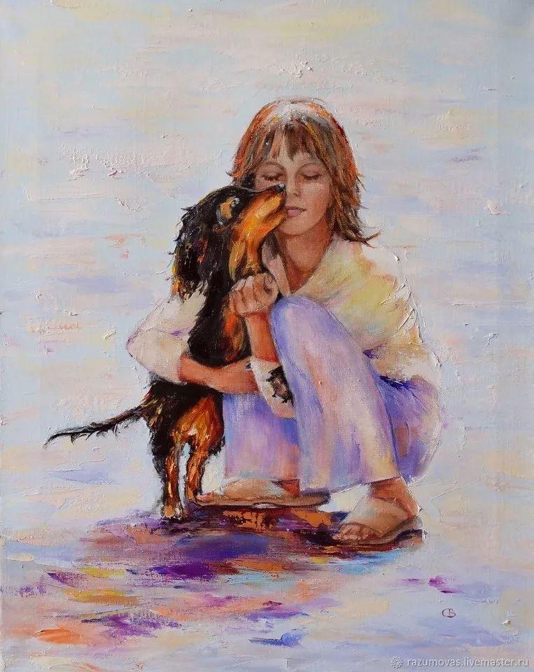 俄罗斯艺术家Svetlana Razumova油画作品插图12