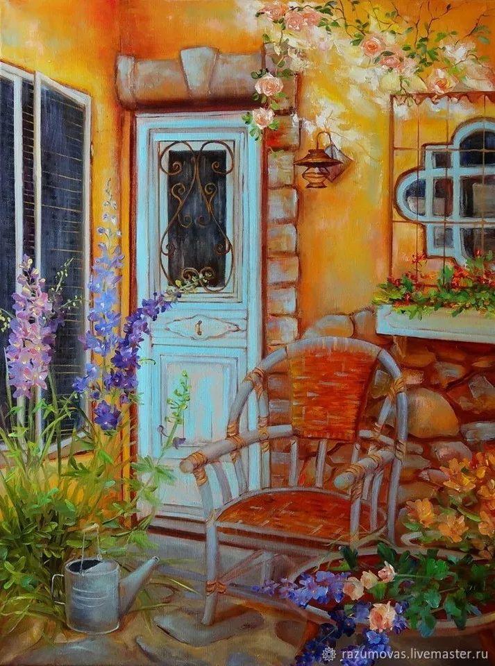 俄罗斯艺术家Svetlana Razumova油画作品插图19