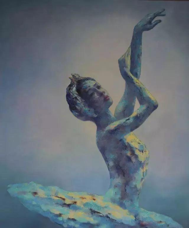 他苦练数年,终究画出了绘画版舞蹈《芳华》插图