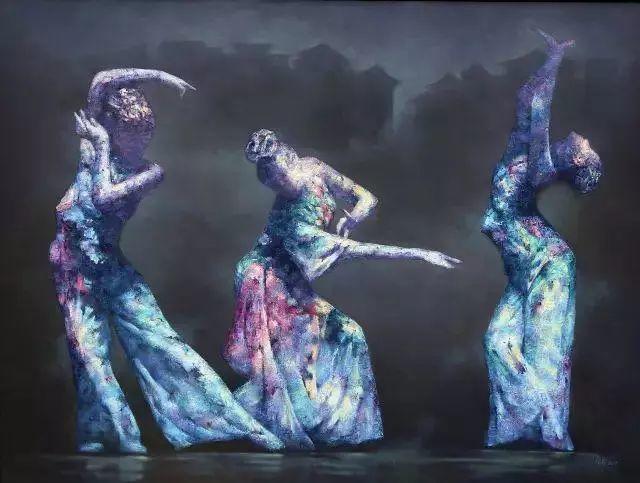 他苦练数年,终究画出了绘画版舞蹈《芳华》插图2