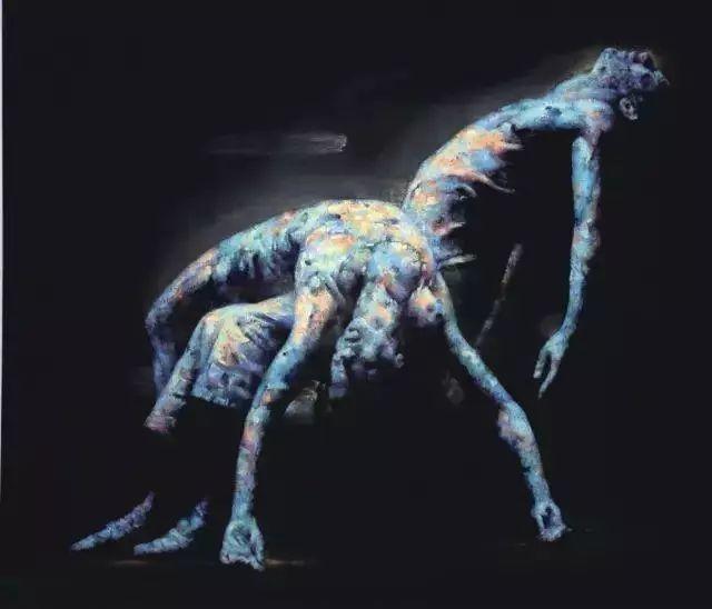 他苦练数年,终究画出了绘画版舞蹈《芳华》插图7