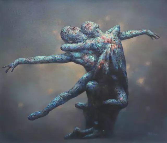 他苦练数年,终究画出了绘画版舞蹈《芳华》插图9