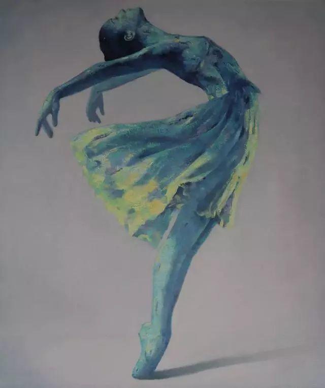 他苦练数年,终究画出了绘画版舞蹈《芳华》插图11