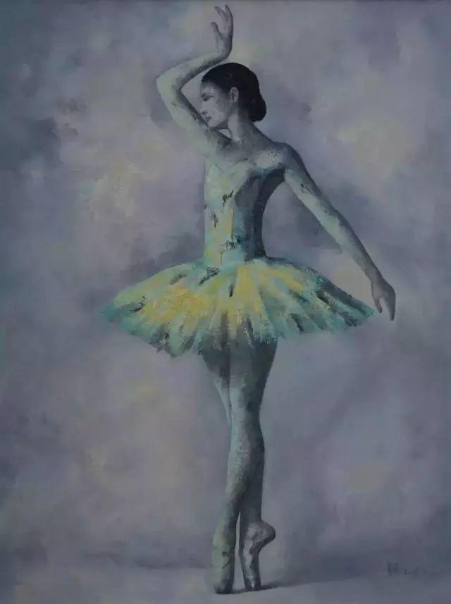 他苦练数年,终究画出了绘画版舞蹈《芳华》插图13