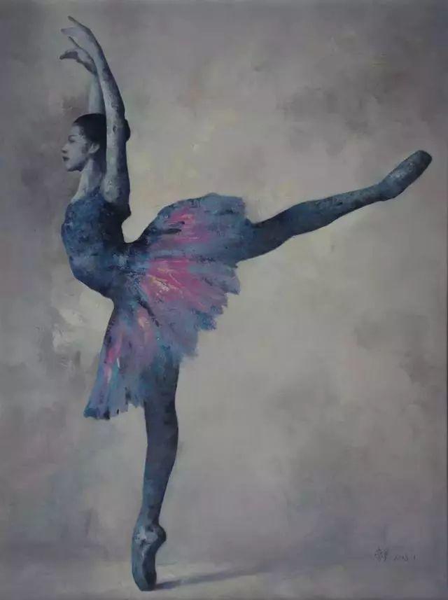 他苦练数年,终究画出了绘画版舞蹈《芳华》插图14