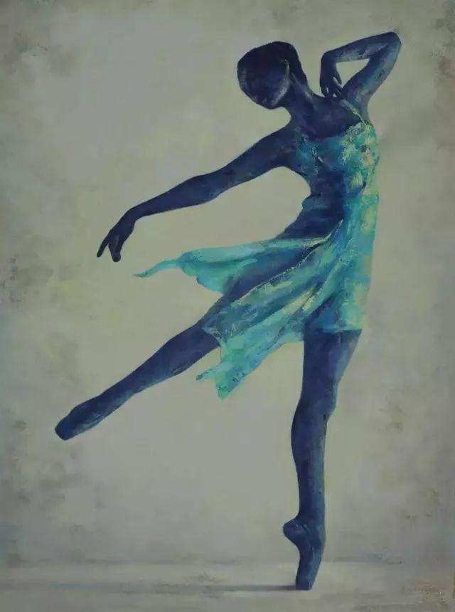 他苦练数年,终究画出了绘画版舞蹈《芳华》插图15