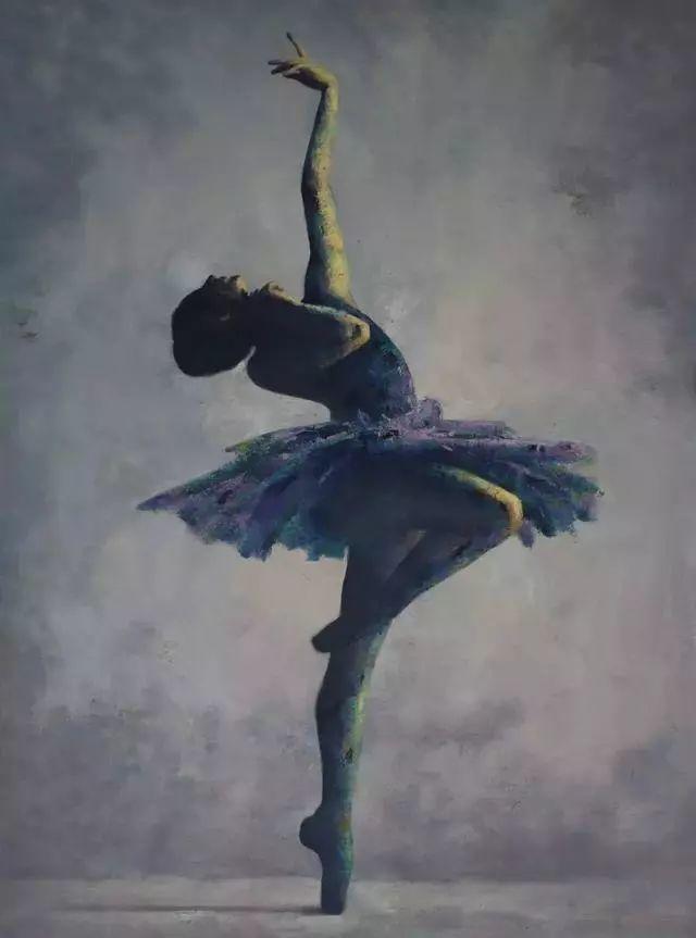 他苦练数年,终究画出了绘画版舞蹈《芳华》插图16