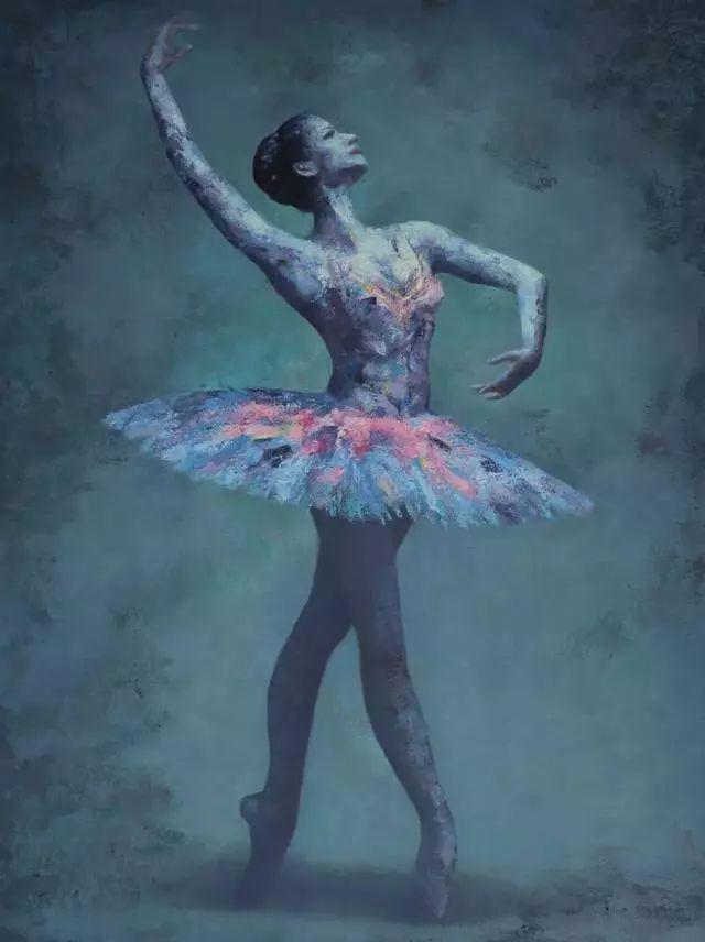 他苦练数年,终究画出了绘画版舞蹈《芳华》插图17