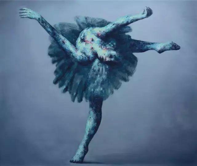 他苦练数年,终究画出了绘画版舞蹈《芳华》插图22