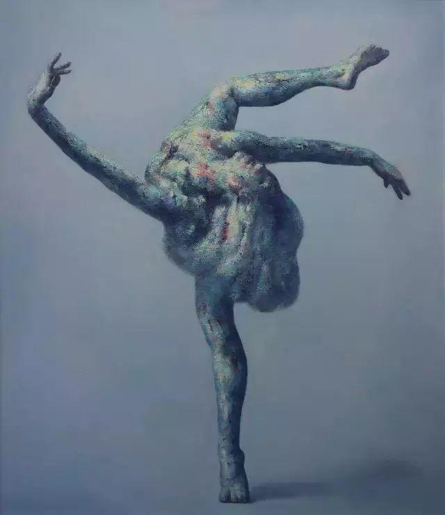 他苦练数年,终究画出了绘画版舞蹈《芳华》插图23