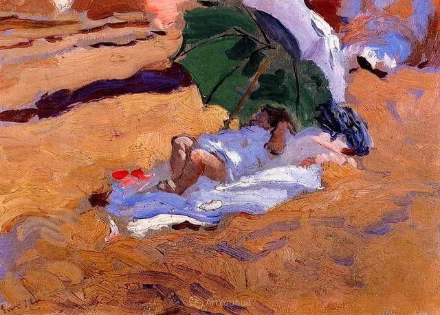 他被公认为现代西班牙绘画院校领袖——Joaquin Sorolla插图5