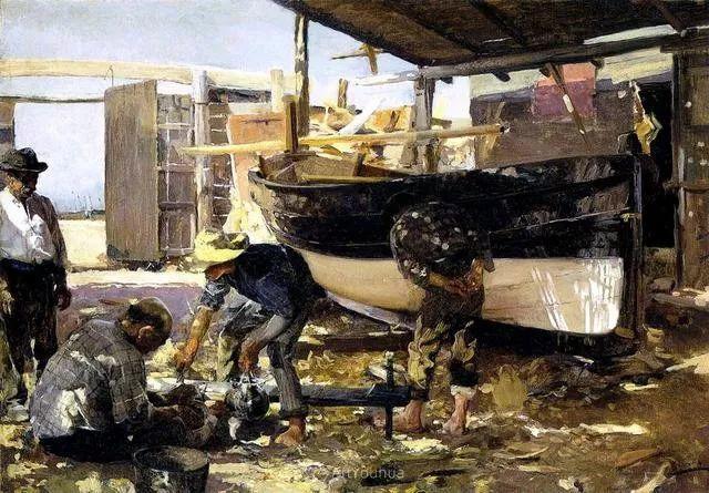 他被公认为现代西班牙绘画院校领袖——Joaquin Sorolla插图16