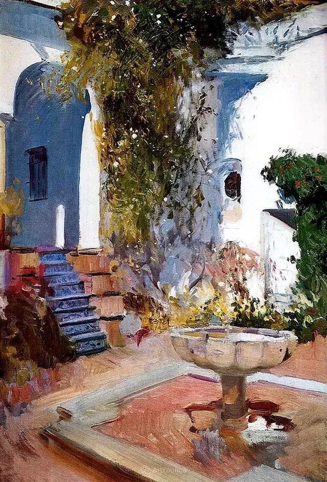 他被公认为现代西班牙绘画院校领袖——Joaquin Sorolla插图25