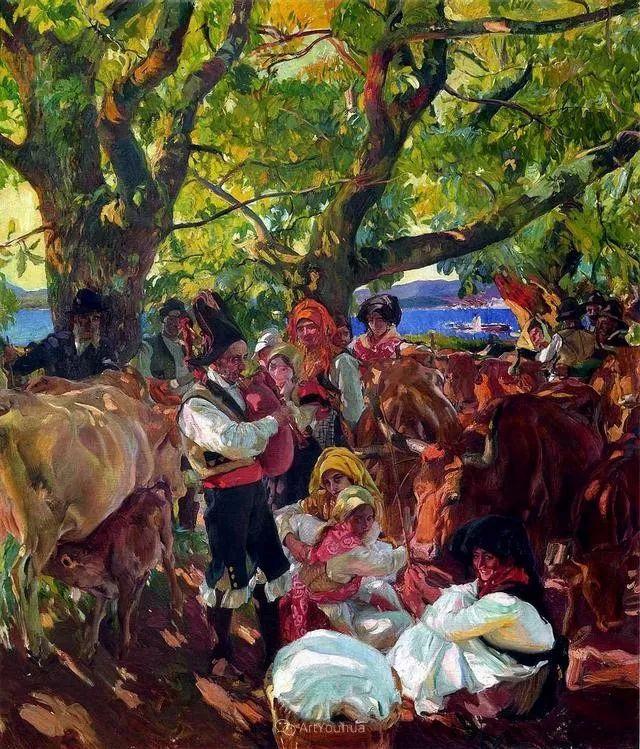 他被公认为现代西班牙绘画院校领袖——Joaquin Sorolla插图27