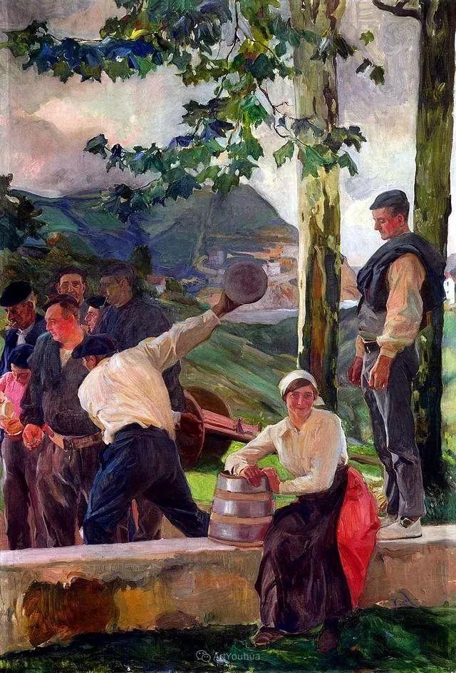 他被公认为现代西班牙绘画院校领袖——Joaquin Sorolla插图28