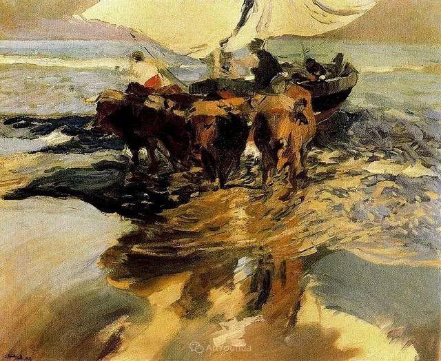 他被公认为现代西班牙绘画院校领袖——Joaquin Sorolla插图39