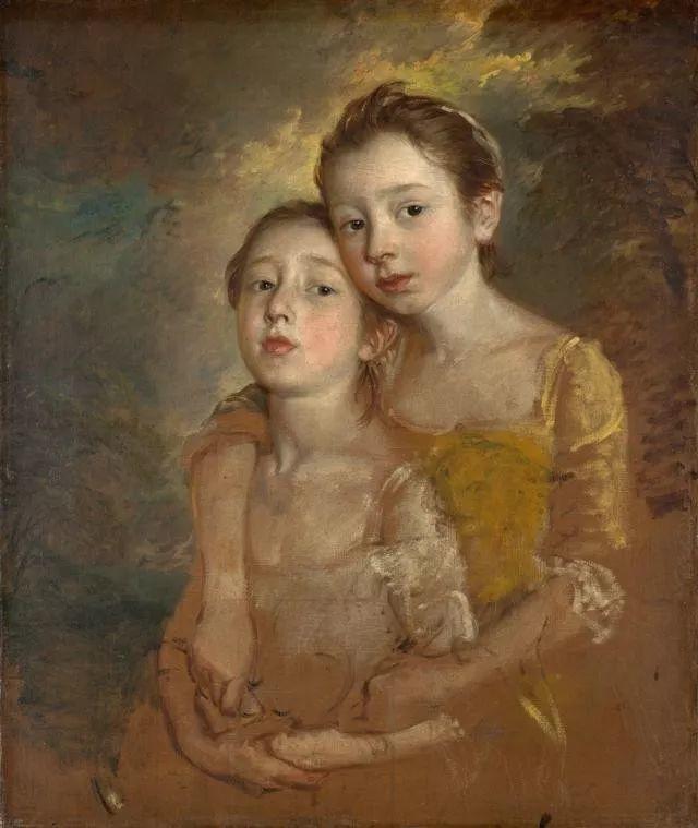 18世纪英国皇家艺术学院院士的肖像画——庚斯博罗插图