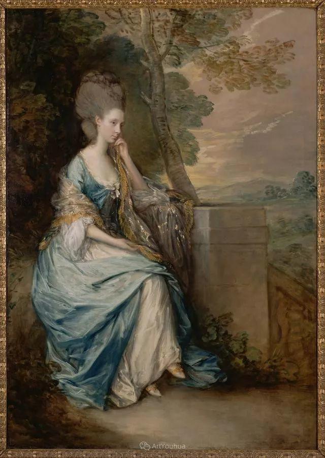 18世纪英国皇家艺术学院院士的肖像画——庚斯博罗插图1