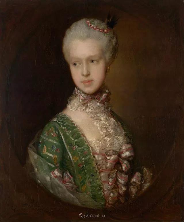 18世纪英国皇家艺术学院院士的肖像画——庚斯博罗插图2
