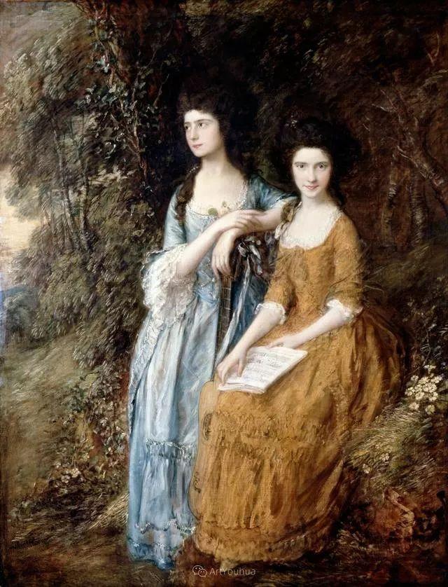 18世纪英国皇家艺术学院院士的肖像画——庚斯博罗插图4