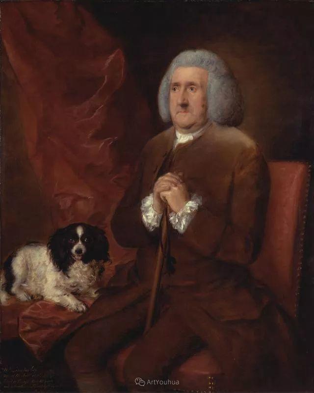 18世纪英国皇家艺术学院院士的肖像画——庚斯博罗插图5
