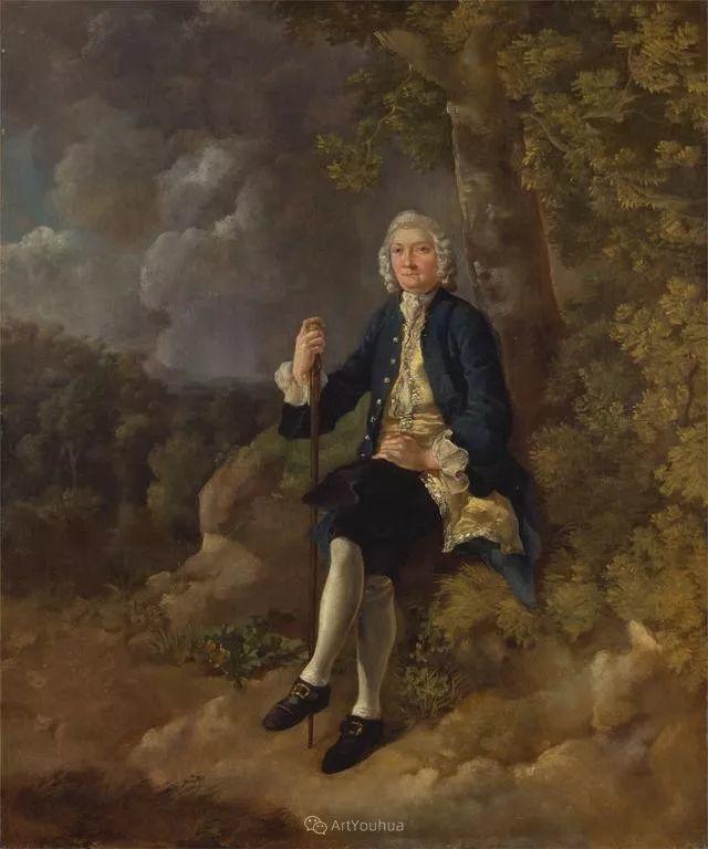 18世纪英国皇家艺术学院院士的肖像画——庚斯博罗插图6