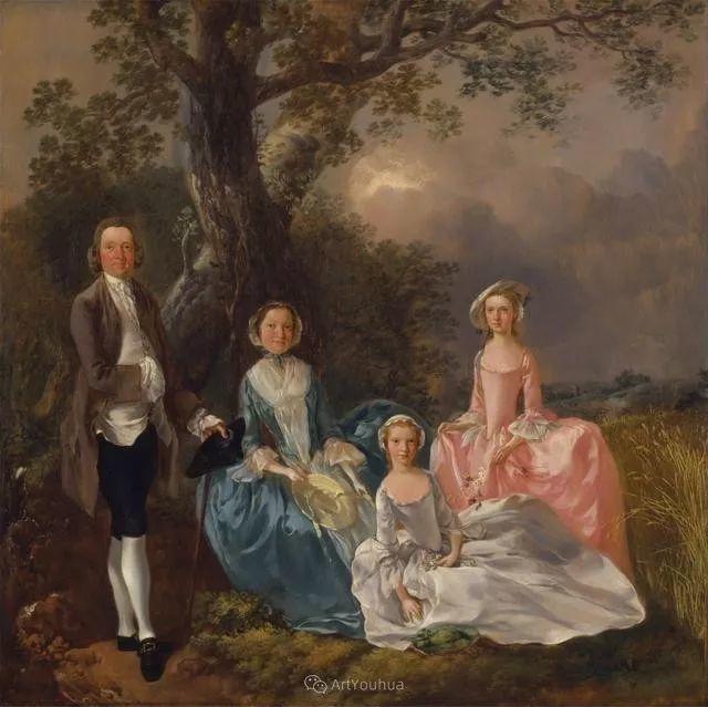 18世纪英国皇家艺术学院院士的肖像画——庚斯博罗插图7