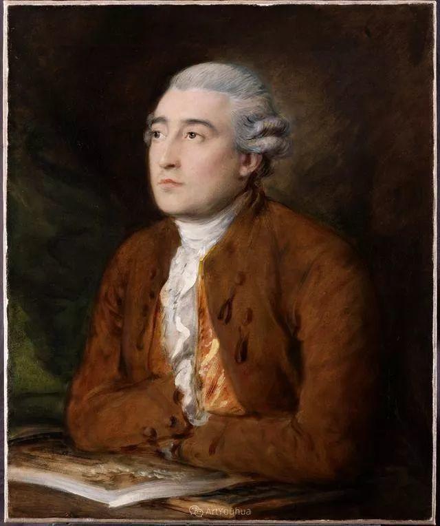18世纪英国皇家艺术学院院士的肖像画——庚斯博罗插图8