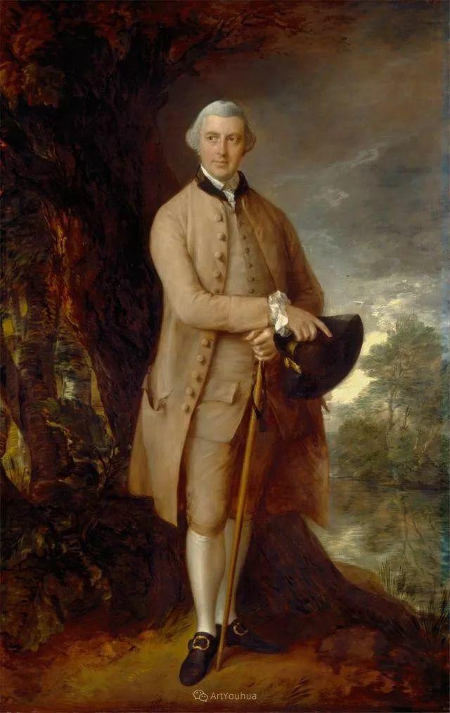 18世纪英国皇家艺术学院院士的肖像画——庚斯博罗插图10