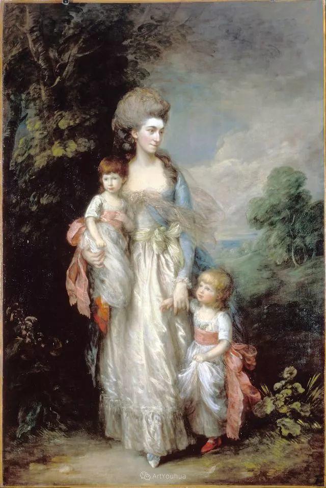 18世纪英国皇家艺术学院院士的肖像画——庚斯博罗插图13