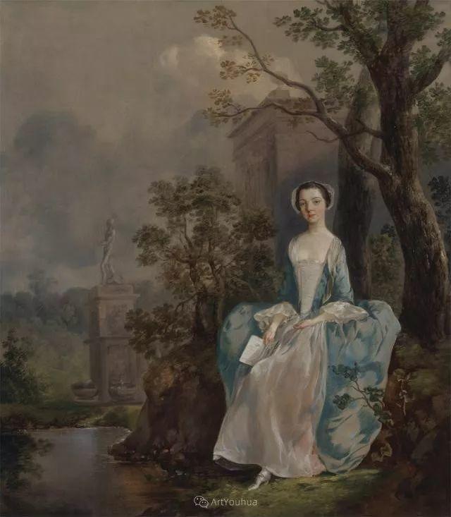 18世纪英国皇家艺术学院院士的肖像画——庚斯博罗插图14