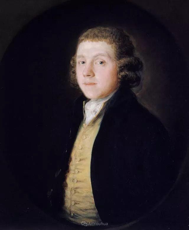 18世纪英国皇家艺术学院院士的肖像画——庚斯博罗插图15