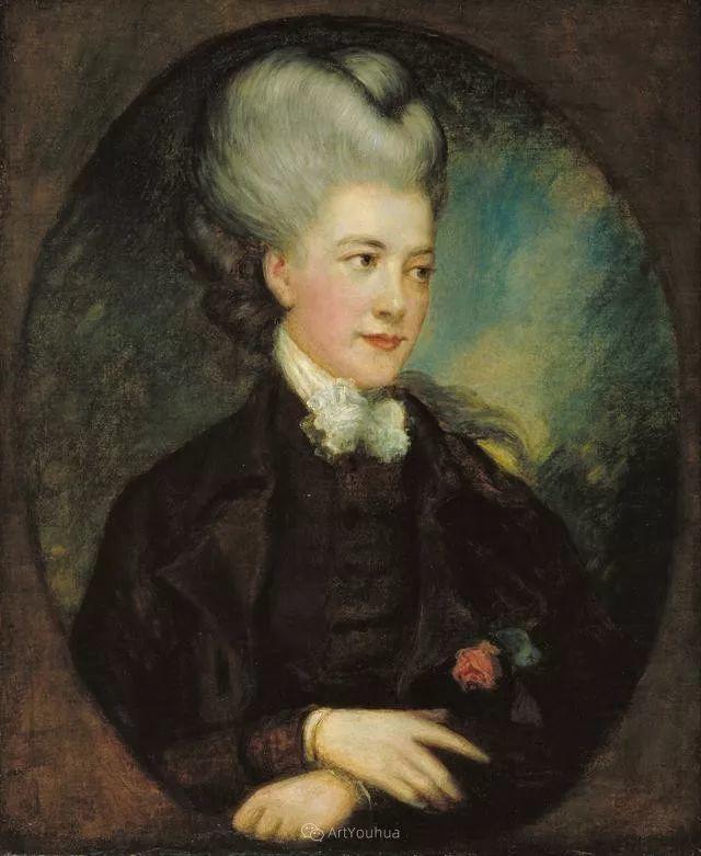18世纪英国皇家艺术学院院士的肖像画——庚斯博罗插图19